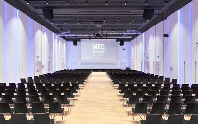 MEC panoramica del Meeting & Event Center Südtirol Alto Adige a Bolzano, fotografia di Marco Parisi